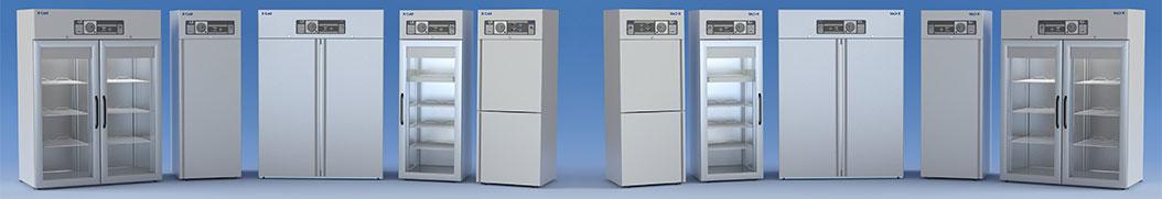 Armadi frigoriferi e frigoriferi professionali