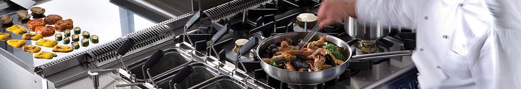 Cucine professionale per la ristorazione e hotel