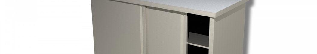Tavoli armadiati in acciaio inox in vendita online